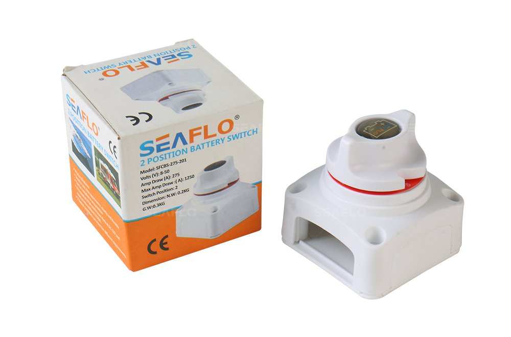 SEAFLO Battery Disconnect Switch EUSFCBS-275-201