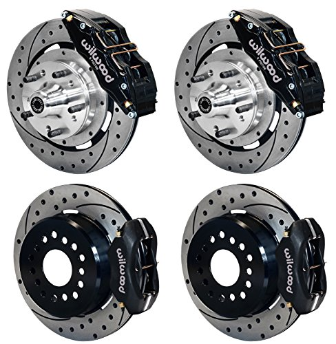 Complete Rear Brake (NEW WILWOOD COMPLETE FRONT & REAR DISC BRAKE KIT WITH LINES, FITTINGS, 12