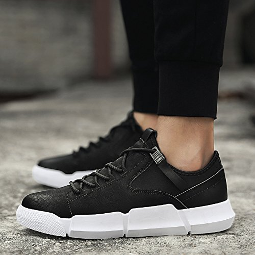 Men's Shoes Feifei Spring and Autumn Fashion Breathable Casual Shoes 3 Colors (Color : 01, Size : EU42/UK8.5/CN43)