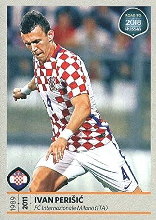 96c4206723f 2017 Panini Road to 2018 FIFA World Cup Russia  28 Ivan Perisic Croatia  Soccer Sticker