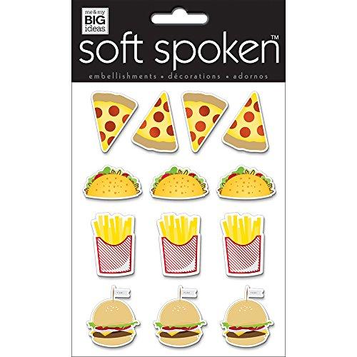 me & my BIG ideas SS-1695 Stickers, Fast Food
