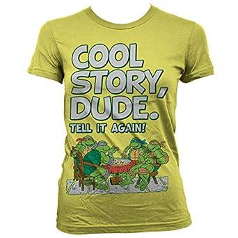 Teenage Mutant Ninja Turtles TMNT Cool Story Dude - Camiseta ...