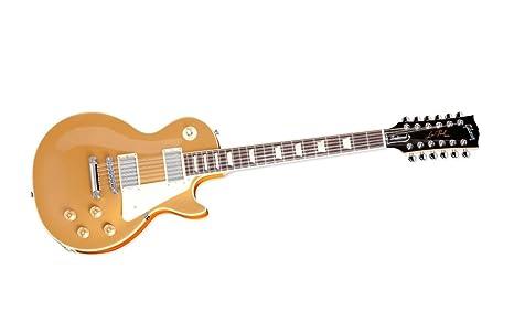 Gibson Les Paul Traditional guitarra eléctrica de 12 oro Top ...
