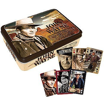 John Wayne The Duke Special Edition Playing Cards Set With Collectible Tin