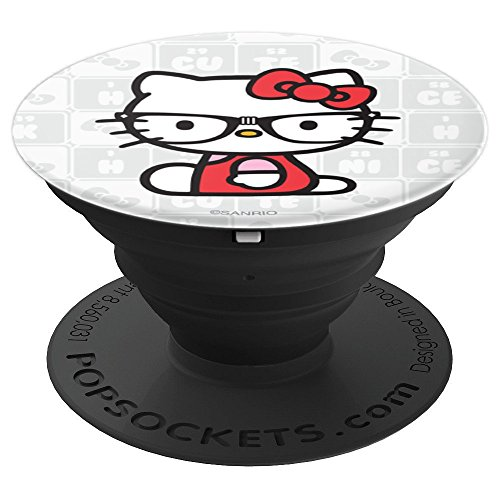Hello Kitty Nerd Glasses - PopSockets Grip and Stand for Phones and Tablets -