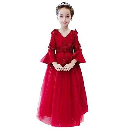 Jxth Niños niñas Boda Prom Vestidos de Princesa Vestidos ...