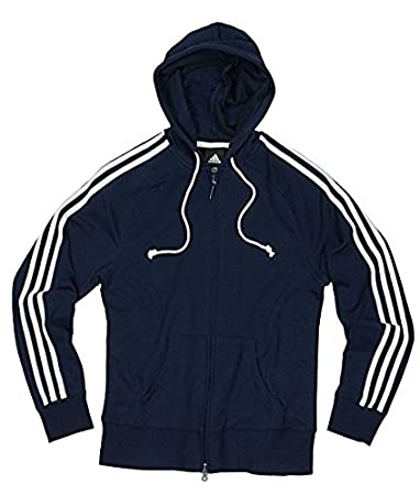 Amazon.com: Adidas Womens Athletic Zipped Hoodie, Hooded Jacket ...