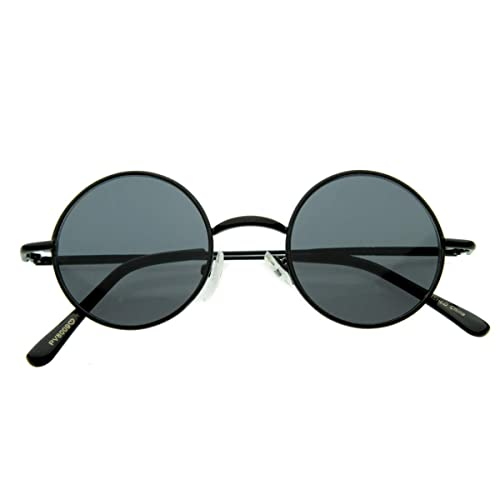 08e96c1bb77 Small Retro-Vintage Style Lennon Inspired Round Metal Circle Sunglasses