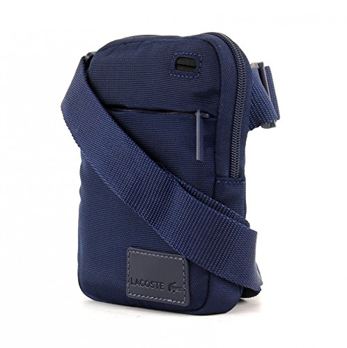 Marca Azul Francesa Lacoste Para Hombre Bandolera Bolsa SqC7FF