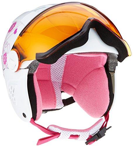 Alpina Carat Visor Ski And Snowboard Helmet Pinkwhite Head Circumference 51 55 Cm 2016 Ski & Snowboard - And Snowboard Ski Alpine
