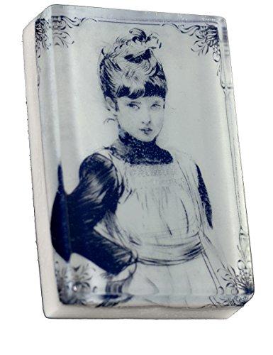 Victorian Maid Girl 4 oz. bath bar -