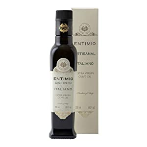 Entimio Distinto | Medium-Robust Olive Oil Extra Virgin from Tuscany, Italy | 2020 Harvest, 2021 NYIOOC Gold Award, High in Polyphenols, No Pesticides, Early Harvest Italian Olive Oil | 8.5 fl oz