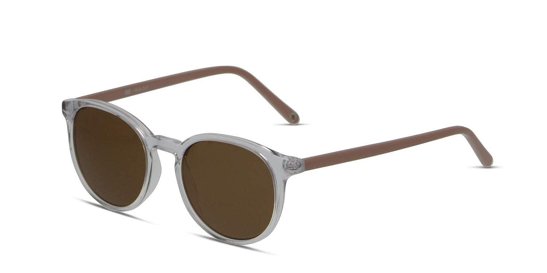 2401c28a2c Amazon.com  Muse x Hilary Duff Eva Round Women Designer Sunglasses UV  Protection Non-polarized