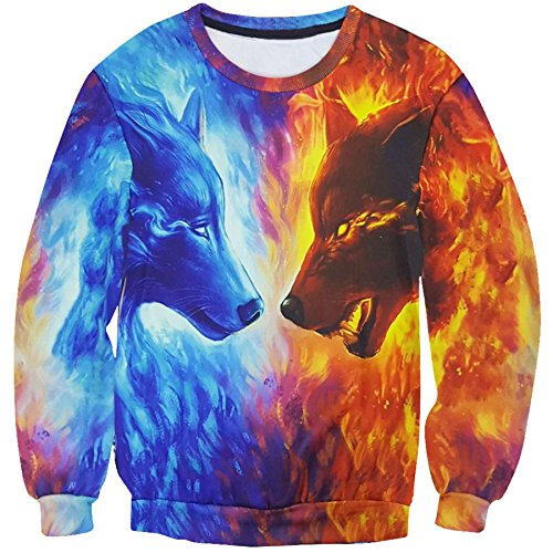 rxbc2011-mens-ice-fire-wolf-3d-print-crewneck-pullover-sweatshirts-s-red