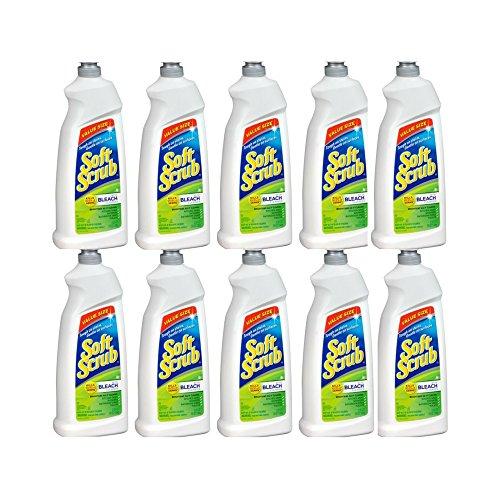 Soft Scrub with Bleach Cleanser 36 oz. Bottle - Pack of 10