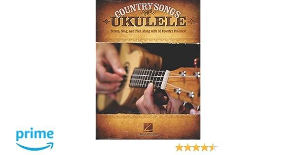 Amazon Country Songs For Ukulele 9781423467601 Hal Leonard