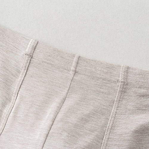 Il Puro Senza Gray3 She Sotto Da Modale Pantaloncini Simili Marca Uomo Riscaldamento Pantalone Colore Mode Traspirante Cuciture Di ordCxeQWBE