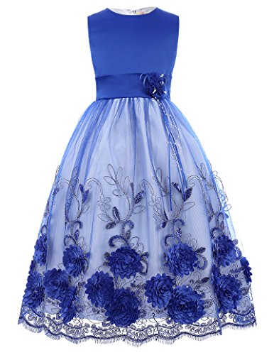 Flower Dress Winter Wedding 10 11