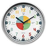 Teaching Clock w/ Silent Movement Educational Clock