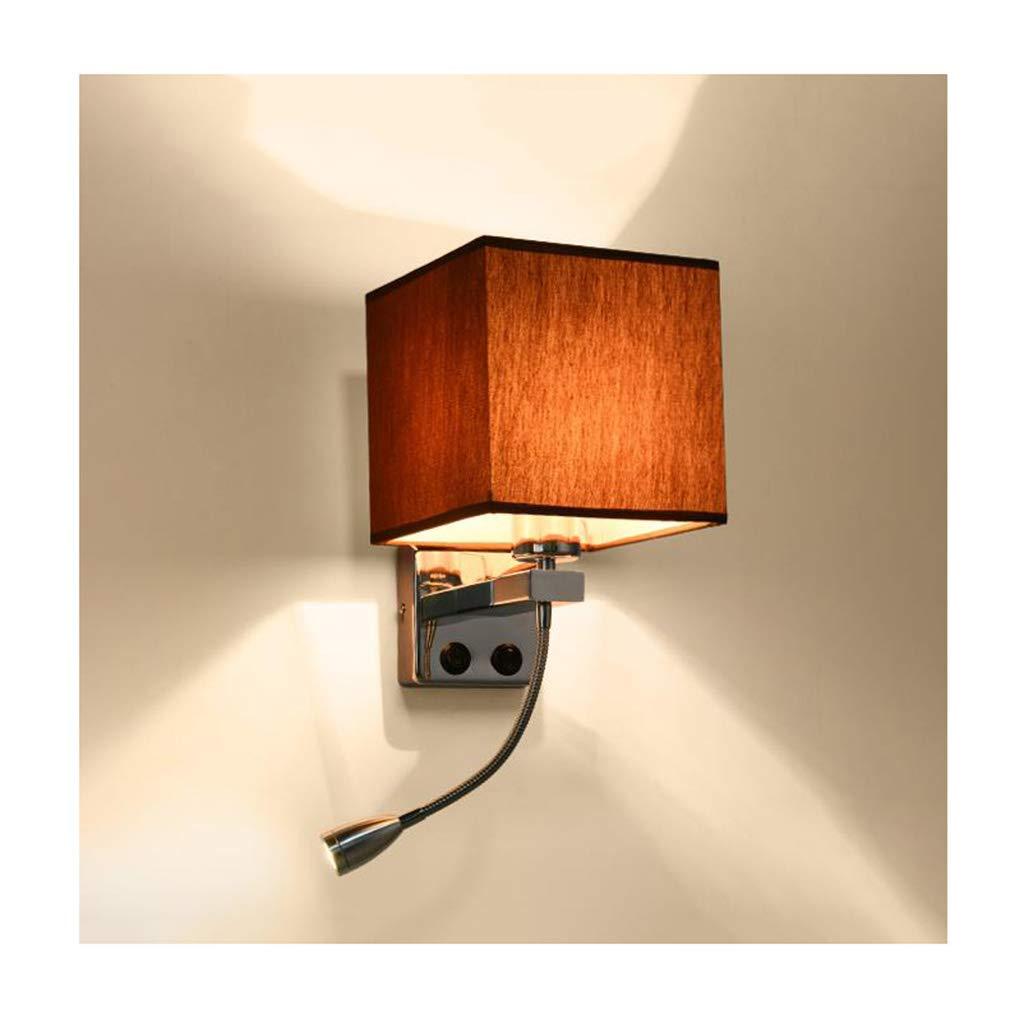 &Wohnzimmer Flur Schlafzimmer Wandleuchte Wandleuchte Moderne minimalistische LED Leselampe Wohnzimmer Schlafzimmer Studie Wandleuchte &Kabellose Wandleuchte (Farbe   B)