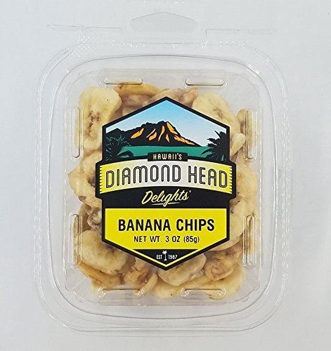 Dried Banana Chips 3 oz