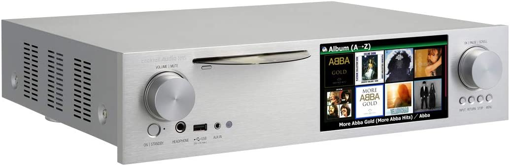 Amazon.com: Cocktail Audio x45 Roon listo reproductor de ...
