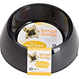 Petco Bowlmates Black Round Base, 1.75 Cup, Small