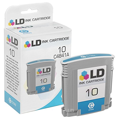 LD Remanufactured Ink Cartridge Replacement for HP 10 C4841A (Cyan) ()