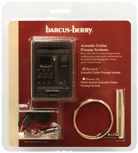 Barcus Berry BREEZEII Acoustic Guitar Preamplifier System