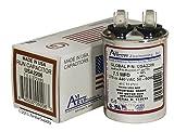 GE/Genteq Z97F9204 / 97F9204-7.5 uf MFD 370/440 Volt VAC AmRad Round Run Capacitor, Made in The U.S.A.