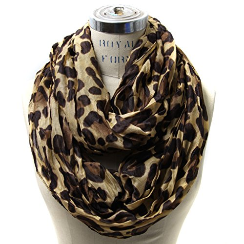 Scarfands Classic Leopard Print Infinity product image