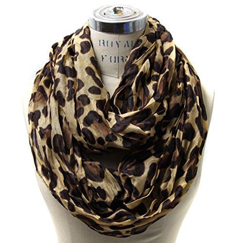 Leopard Scarf (Scarfand's Leopard Infinity Scarf (Camel))
