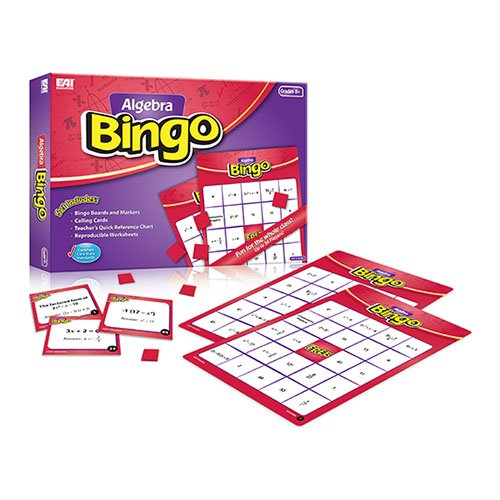 EAI Education Algebra Bingo: Grades - Game Algebra