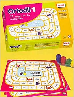 Ortodil 1 (el juego de la ortografia)de 6 a 7 años: Amazon.es: Libros