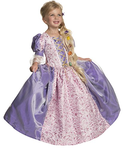 Rubie's Deluxe Princess Alexandra Costume, Purple, Toddler