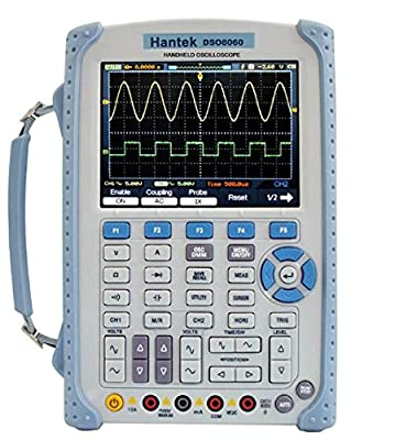 Newest Hantek DSO8060 DMM Spectrum Analyzer 60MHz 2 Channels 250MSa/s Five-in-one Handheld Oscilloscope