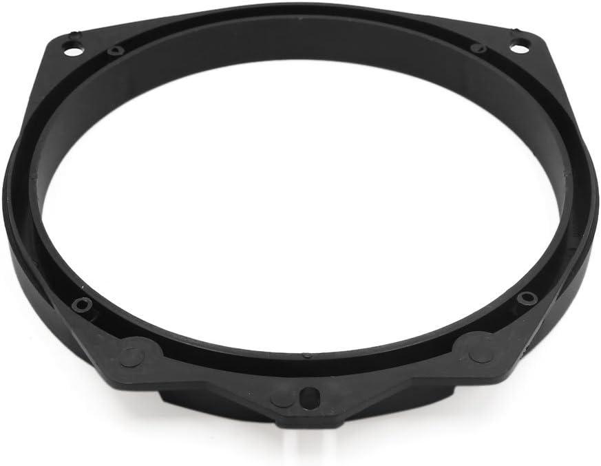 uxcell 2pcs Black 6.5 Car Speaker Mounting Spacer Adaptor Rings Bracket for Mitsubishi