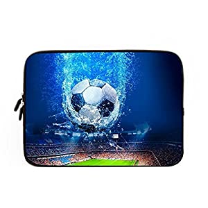 Laptop Sleeve case cover 12 Inch,Notebook/MacBook Pro/MacBook Air Laptop Football Laptop Sleeve