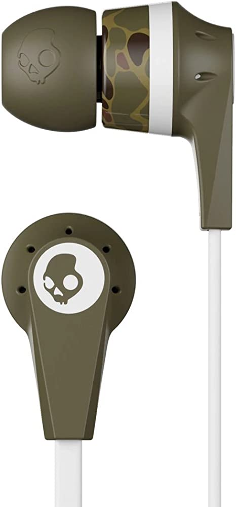Skullcandy S2IKDY L094 Ink'd in Earphone with Mic  Standard Issue  Mobile Phone Wired Headsets
