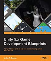 Unity 5.x Game Development Blueprints Front Cover