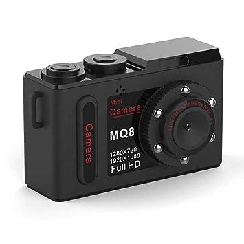 Candyboom MQ8 HD 1080P Mini cámara Infrarrojo Visión Nocturna ...