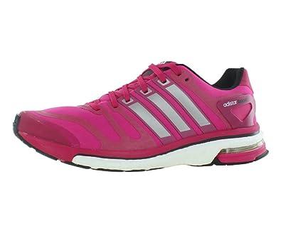 newest afe39 6b9b5 Amazon.com  adidas Adistar Boost W Womens Shoes Pink  Fashion Sneakers