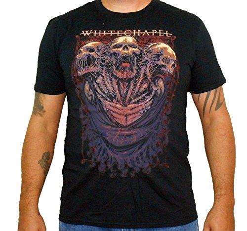 Whitechapel (Three Skulls) Men's T-Shirt