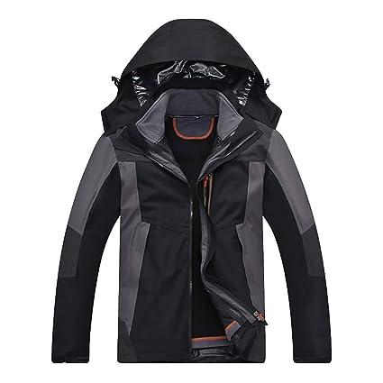 Amazon.com: Goddessvan 2019 Men Waterproof Winter Jacket ...