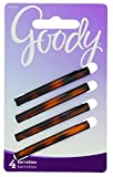 Goody Classics Stay Tight Hair Barrette Mock Tort, 4 Count