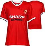 Bryan Robson Manchester United Autographed 1983 Jersey - ICONS - Fanatics Authentic Certified - Autographed Soccer Jerseys