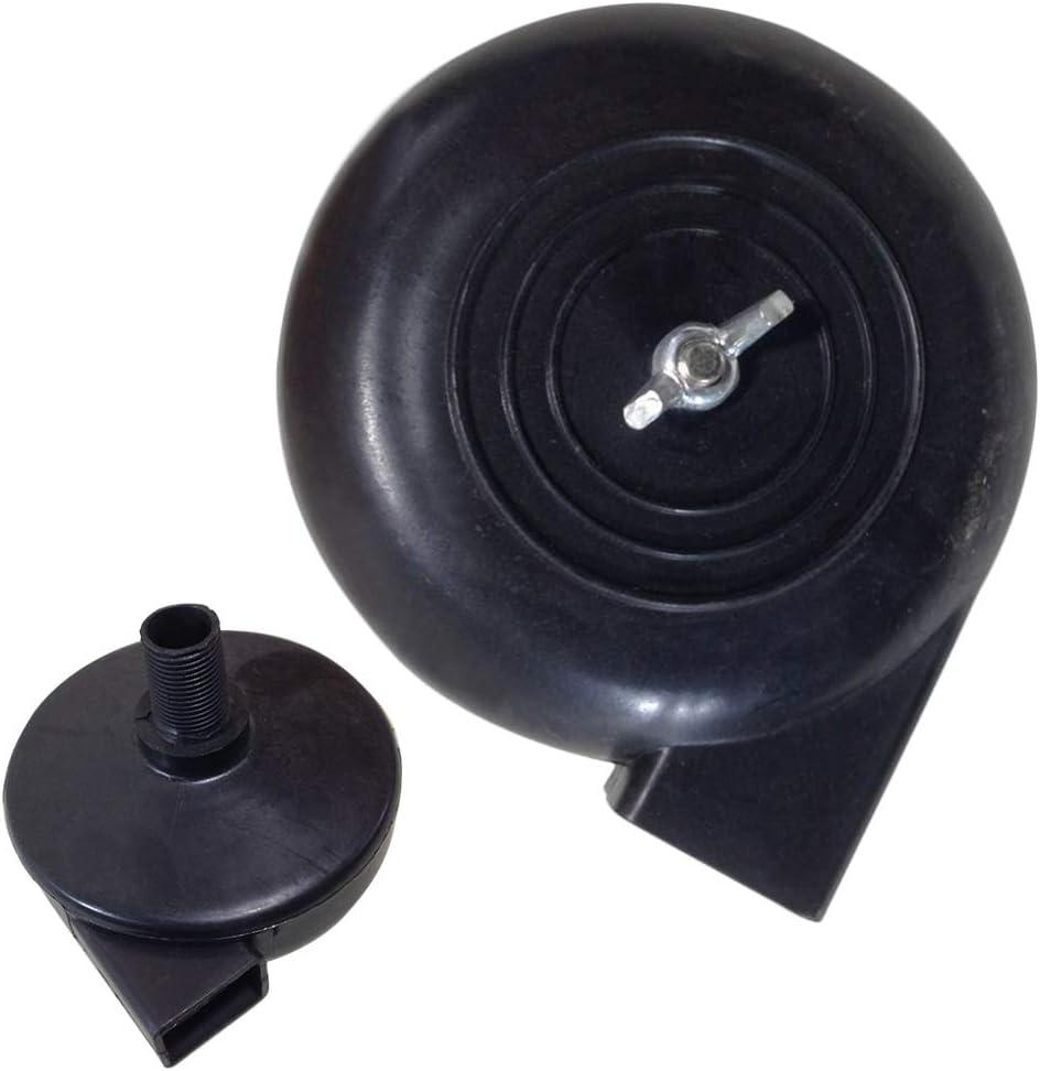 Filtre Silencieux 16mm 3//8PT Silencieux Air Silencieux Escargot Accessoire dadmission de la pompe dair Syst/ème de compresseur dair D/ébit M/âle Filetage Pneumatique Pi/èces Bruit