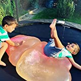 Ginkago Bubble Ball Toy for Adults Kids Inflatable Water Ball Beach Garden Ball Soft Rubber Ball Outdoor Party