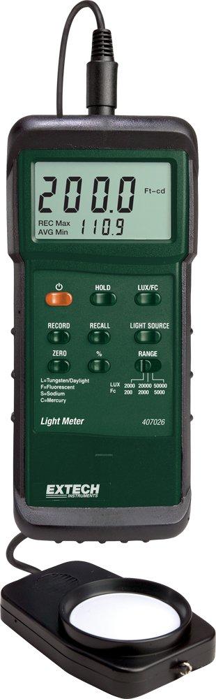 Extech 407026 Light Meter