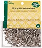 Dritz Quilting 3032 Curved Safety Pins for Large
